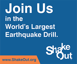 The Great ShakeOut Earthquake Drill